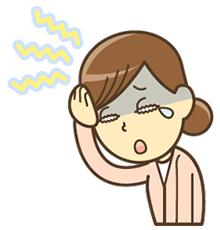宇治市で頭痛に悩む女性